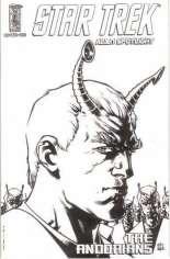 Star Trek: Alien Spotlight - Andorians #1 Variant D: Sketch Cover