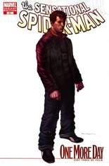 Sensational Spider-Man (2006-2007) #41 Variant B: Variant Cover
