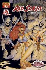 Sword of Red Sonja: Doom of the Gods #1 Variant F: Foil Cover