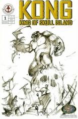 Kong: King of Skull Island (2007-2008) #1 Variant C: Sketch Cover