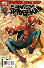 Amazing Spider-Man (1999-2014) #549 Variant A
