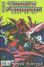 Transformers: Best of the UK - Space Pirates #1 Variant B: Retro Art Cover