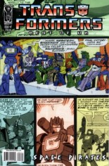 Transformers: Best of the UK - Space Pirates #2 Variant B: Retro Art Cover