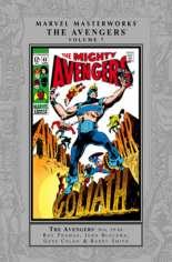Marvel Masterworks: The Avengers (2003-Present) #HC Vol 7 Variant A: Silver Dust Jacket