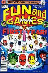 Marvel Fun and Games (1979-1980) #12 Variant A: Newsstand Edition