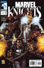 Marvel Knights (2000-2001) #2 Variant A: Marvel Knights Cover