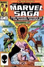 Marvel Saga (1985-1987) #4 Variant B: Direct Edition