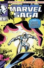 Marvel Saga (1985-1987) #25: Wraparound Cover