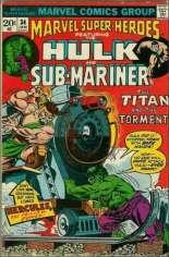 Marvel Super-Heroes (1967-1982) #34