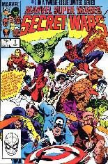Marvel Super-Heroes Secret Wars (1984-1985) #1 Variant B: Direct Edition