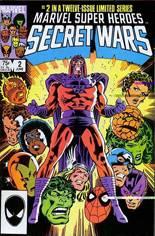 Marvel Super-Heroes Secret Wars (1984-1985) #2 Variant B: Direct Edition