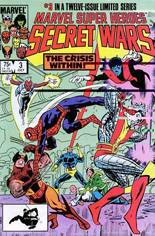 Marvel Super-Heroes Secret Wars (1984-1985) #3 Variant B: Direct Edition