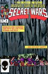Marvel Super-Heroes Secret Wars (1984-1985) #4 Variant B: Direct Edition