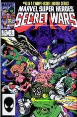 Marvel Super-Heroes Secret Wars (1984-1985) #6 Variant B: Direct Edition
