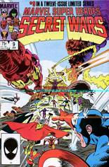 Marvel Super-Heroes Secret Wars (1984-1985) #9 Variant B: Direct Edition