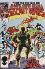 Marvel Super-Heroes Secret Wars (1984-1985) #11 Variant B: Direct Edition