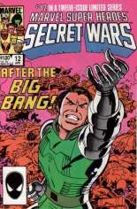 Marvel Super-Heroes Secret Wars (1984-1985) #12 Variant B: Direct Edition