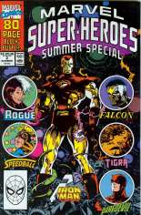 Marvel Super-Heroes (1990-1993) #2 Variant B: Direct Edition; Summer Special