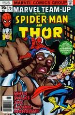 Marvel Team-Up (1972-1985) #70 Variant A