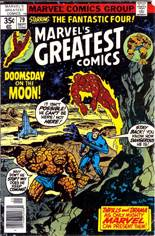 Marvel's Greatest Comics (1969-1981) #79