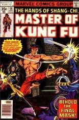Master of Kung Fu (1974-1983) #58 Variant A