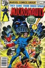 Micronauts (1979-1984) #1 Variant A