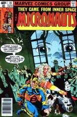Micronauts (1979-1984) #18 Variant A: Newsstand Edition