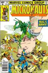 Micronauts (1979-1984) #19 Variant A: Newsstand Edition