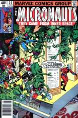 Micronauts (1979-1984) #20 Variant A: Newsstand Edition