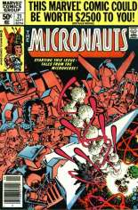 Micronauts (1979-1984) #21 Variant A: Newsstand Edition