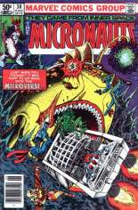 Micronauts (1979-1984) #30 Variant A: Newsstand Edition