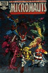 Micronauts (1979-1984) #38: Series converted to Direct Sales only