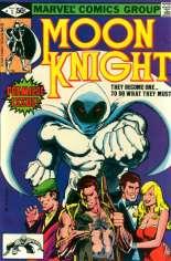 Moon Knight (1980-1984) #1 Variant B: Direct Edition