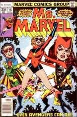 Ms. Marvel (1977-1979) #18 Variant A