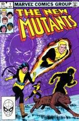 New Mutants (1983-1991) #1 Variant B: Direct Edition