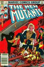 New Mutants (1983-1991) #4 Variant A: Newsstand Edition