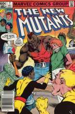 New Mutants (1983-1991) #7 Variant A: Newsstand Edition