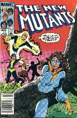 New Mutants (1983-1991) #13 Variant A: Newsstand Edition