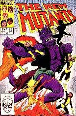 New Mutants (1983-1991) #14 Variant B: Direct Edition