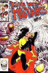 New Mutants (1983-1991) #15 Variant B: Direct Edition