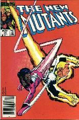 New Mutants (1983-1991) #17 Variant A: Newsstand Edition