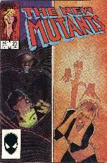 New Mutants (1983-1991) #23 Variant B: Direct Edition