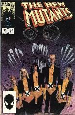 New Mutants (1983-1991) #24 Variant B: Direct Edition