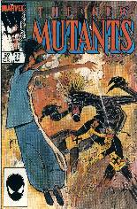 New Mutants (1983-1991) #27 Variant B: Direct Edition
