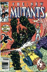 New Mutants (1983-1991) #33 Variant A: Newsstand Edition
