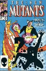 New Mutants (1983-1991) #35 Variant B: Direct Edition