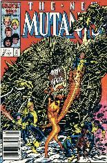 New Mutants (1983-1991) #47 Variant A: Newsstand Edition