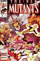 New Mutants (1983-1991) #57 Variant A: Newsstand Edition