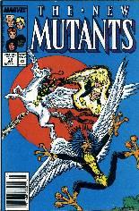 New Mutants (1983-1991) #58 Variant A: Newsstand Edition