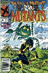 New Mutants (1983-1991) #60 Variant A: Newsstand Edition